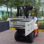 Kina Hydrauliske effektive gaffeltrucks tilleggsutstyr Multi-Clamp