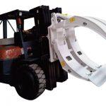 Gaffeltruck-tilbehør 360 rotasjon klammer med enkelt arm