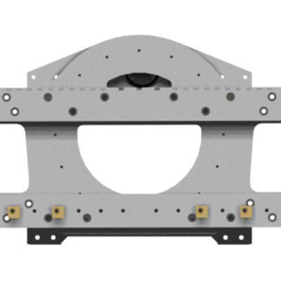 Trommelrotator gaffeltruck-feste
