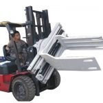 Bale Clamp Forklift Vedlegg Avfallspapir Bale Clamp
