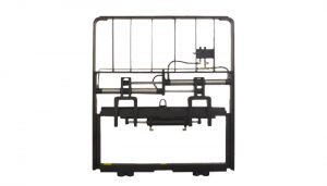 Heavy Duty Hydraulic Metal Gaffel Positioner For Diesel Forklift