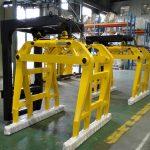 Høykvalitets gaffeltruck betongklokkeblokkklemmer til salgs