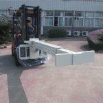 Hydraulisk gaffeltruck vedlegg Glasshåndterer