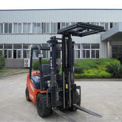 Hydrauliske gaffeltrucks påmontert laststabilisatorer